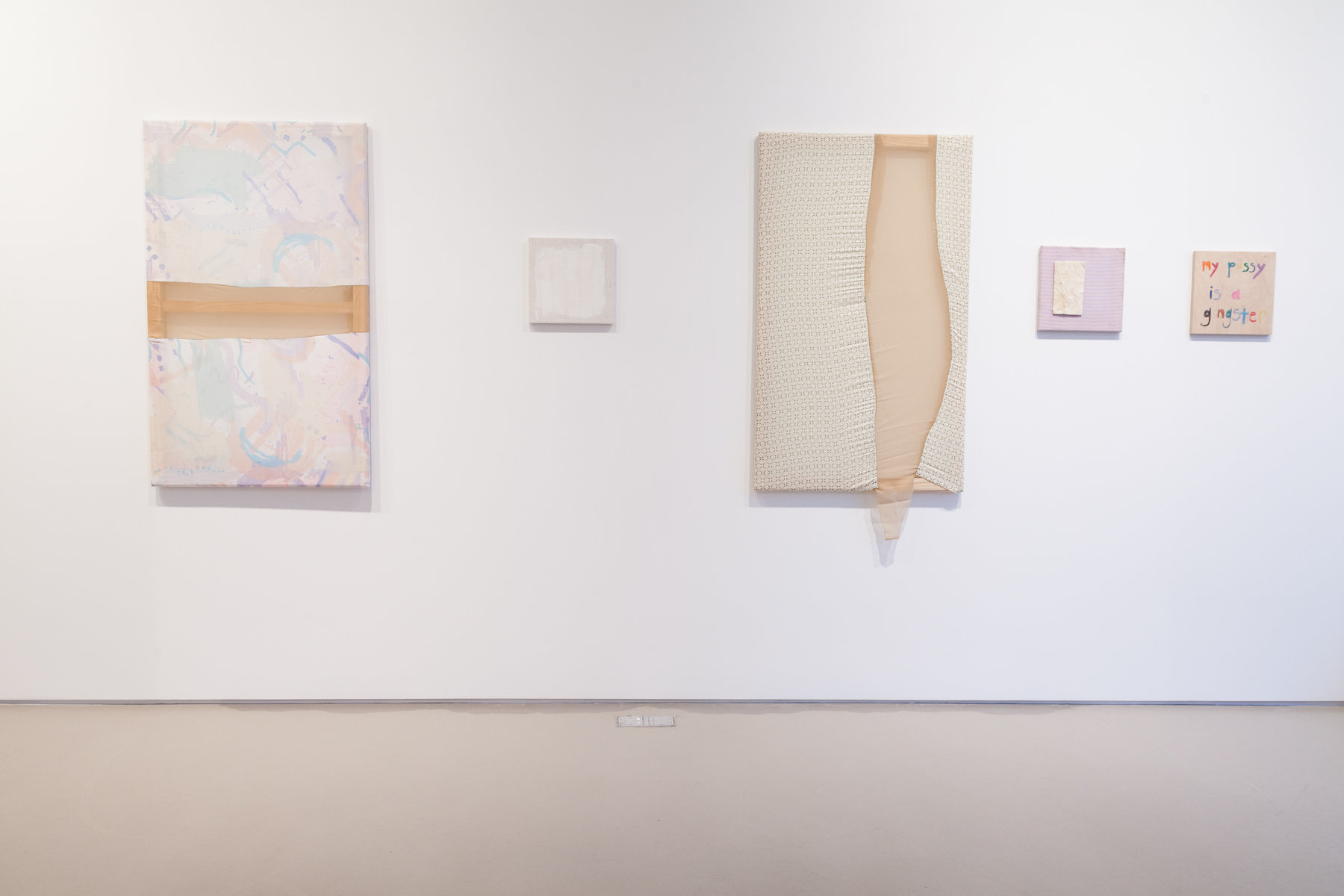 Tameka Norris   Unsupervised , 2013 Installation at Lombard Freid Gallery
