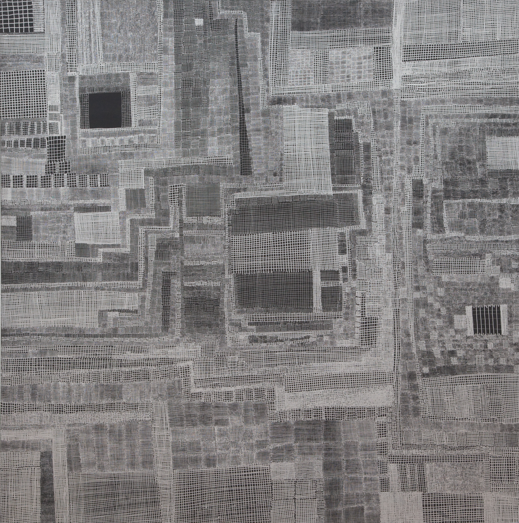 914_City Scapes_pen on panel_30 x 30_1999.jpg