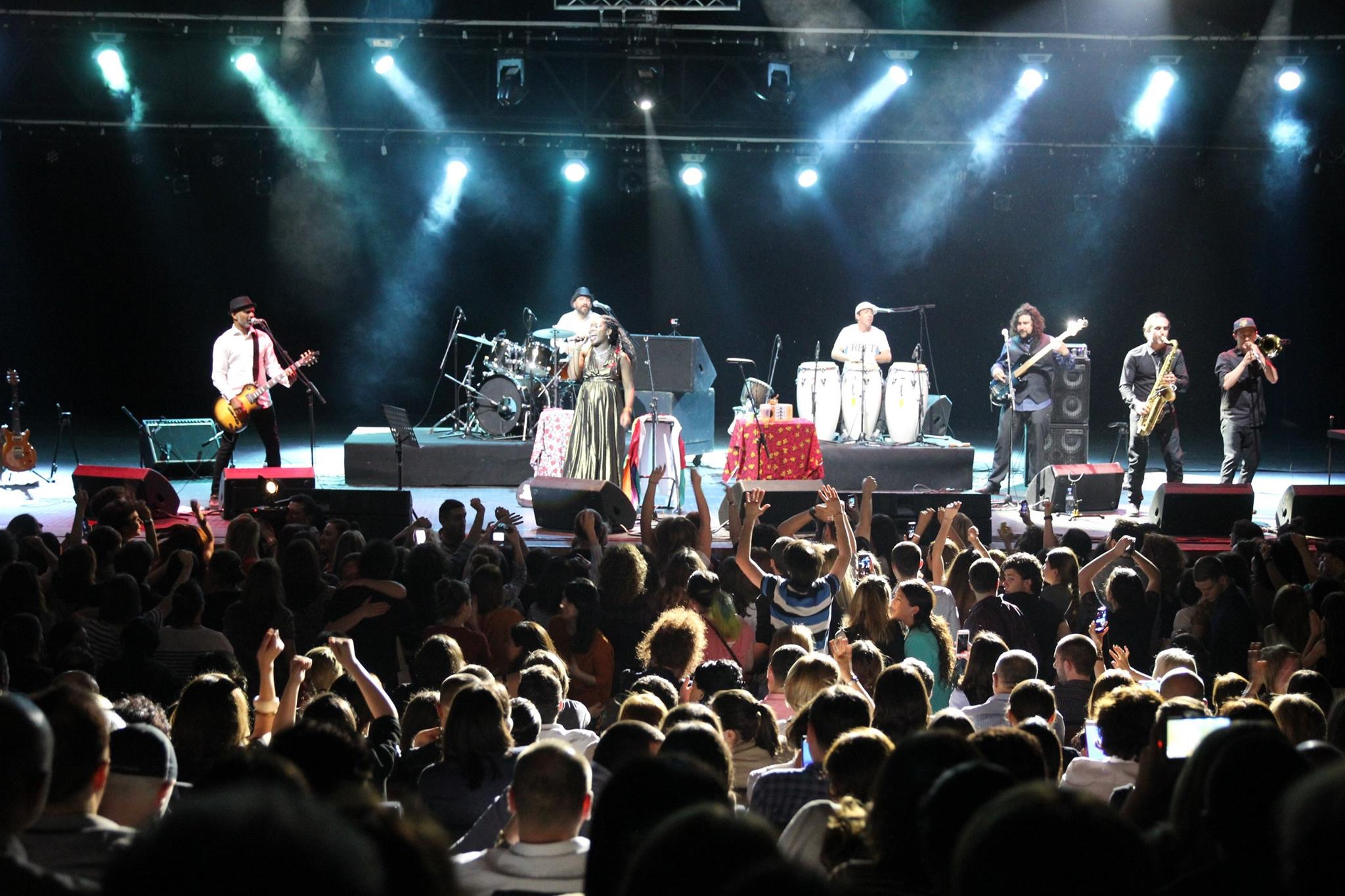Iyeoka and the rock by funk tribe  | Tbilisi Concert Hall.  May 24, 2015