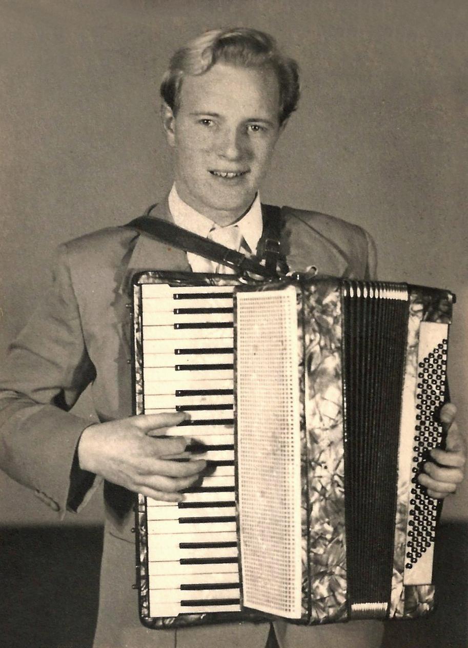 Höskuldur pursuing one of his many passions