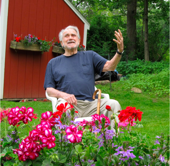 At home in Pine Plains, New York