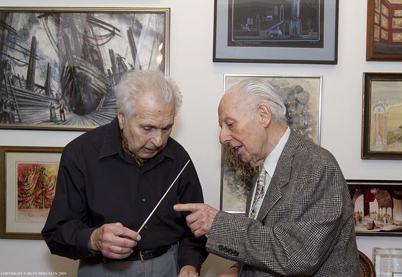 With Maestro Julius Rudel
