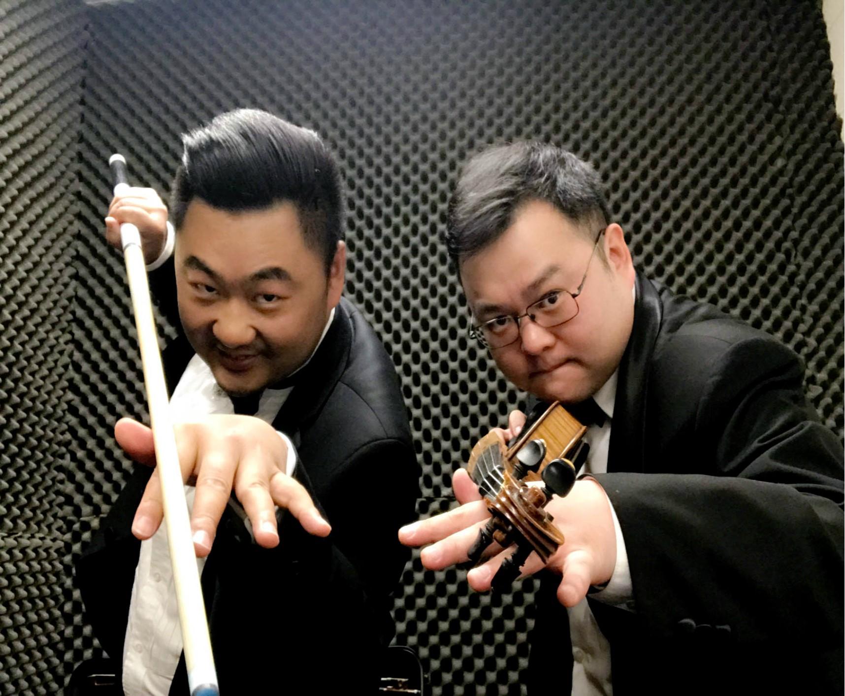 Shenghua (L) and Quan (R)