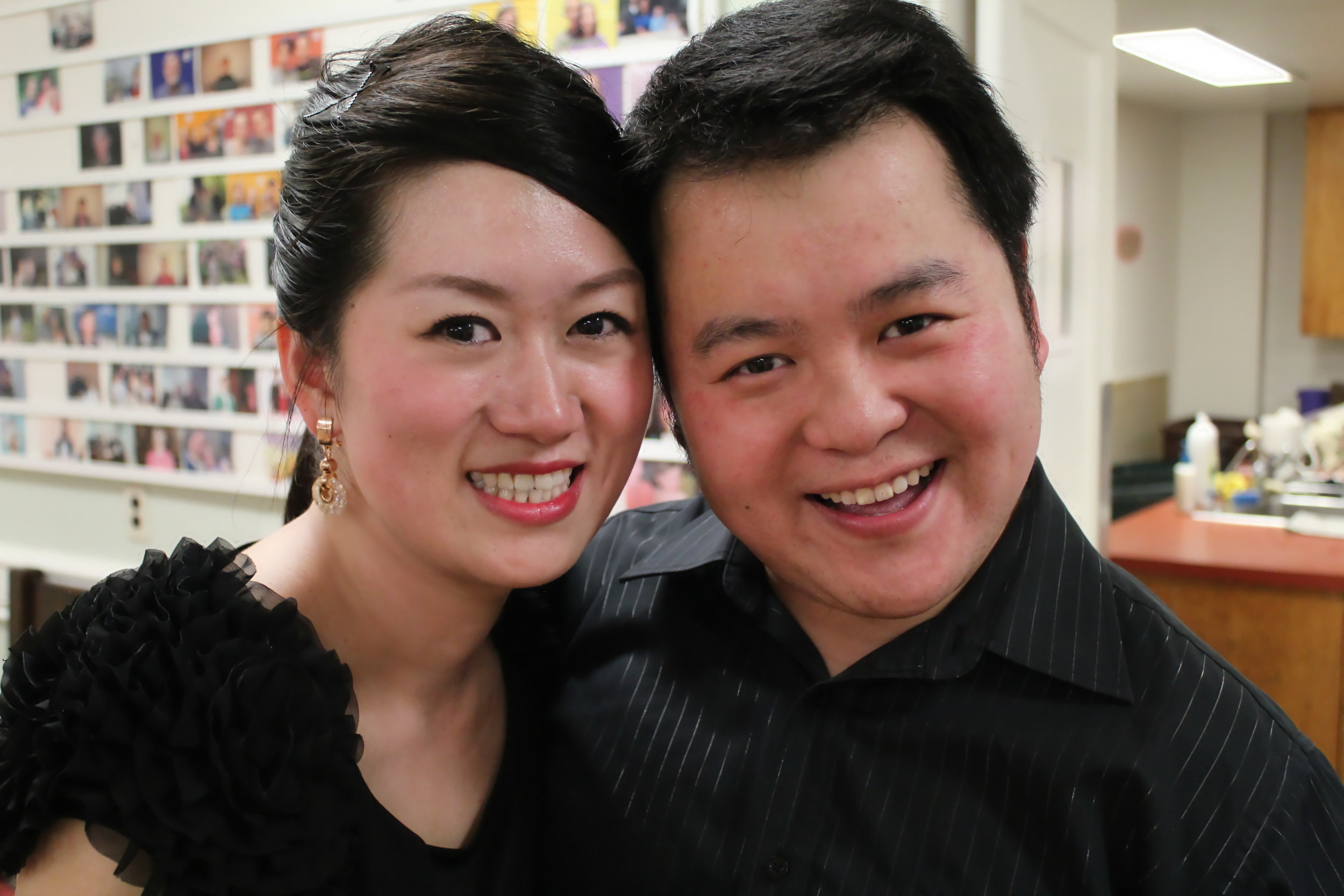 Quan and his wife