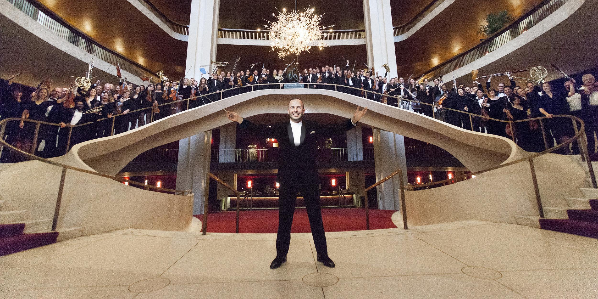 Full Orchestra Roster (Photo Credit: Rose Callahan /Metropolitan Opera
