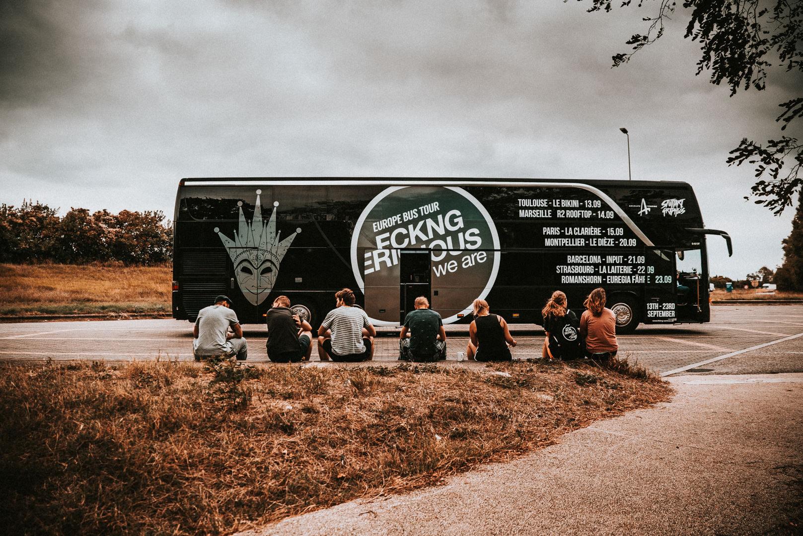 Le Bikini - 13.09.2018 Toulouse (France)FCKNG SERIOUS EUROPE BUS TOUR