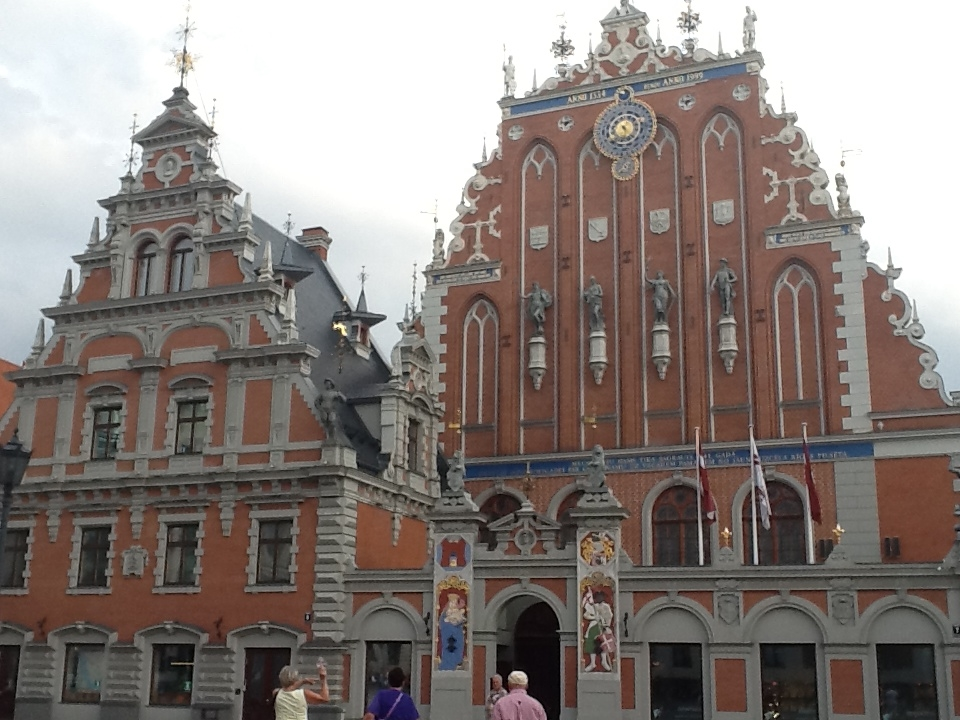Another of Riga's imposing, historic buildings