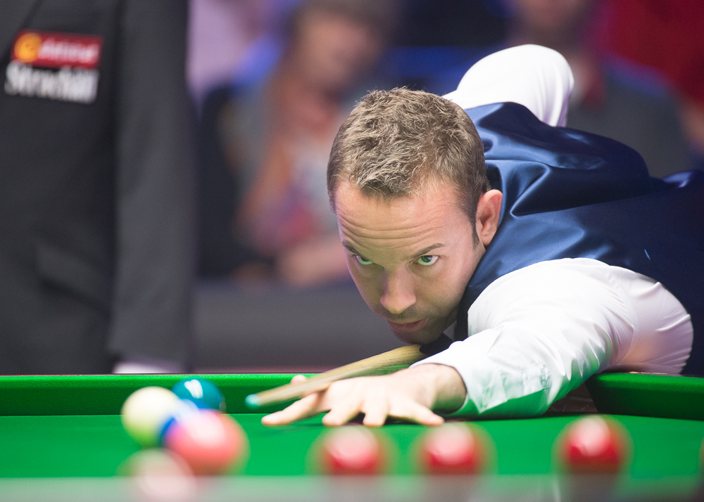 Ali Carter returned to action after treatment for cancer