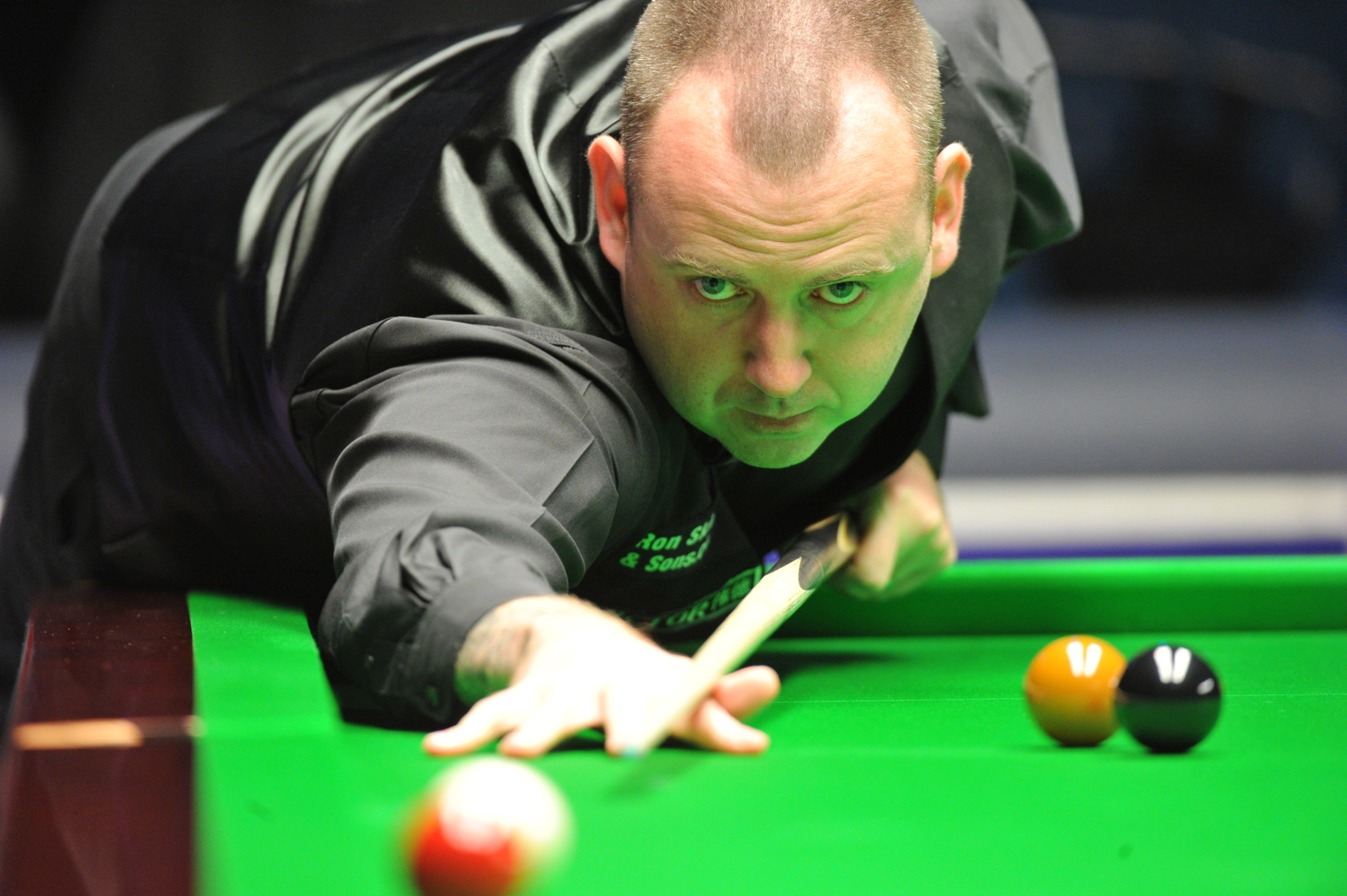 Mark Williams: lost to Mark Allen in Chinese classic