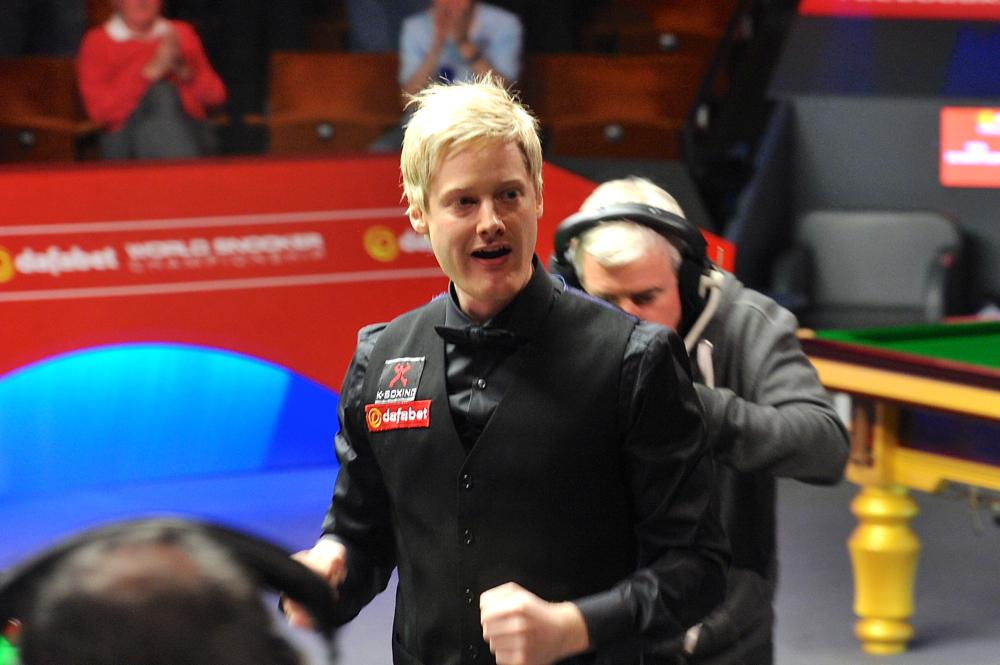 Neil Robertson: always a contender