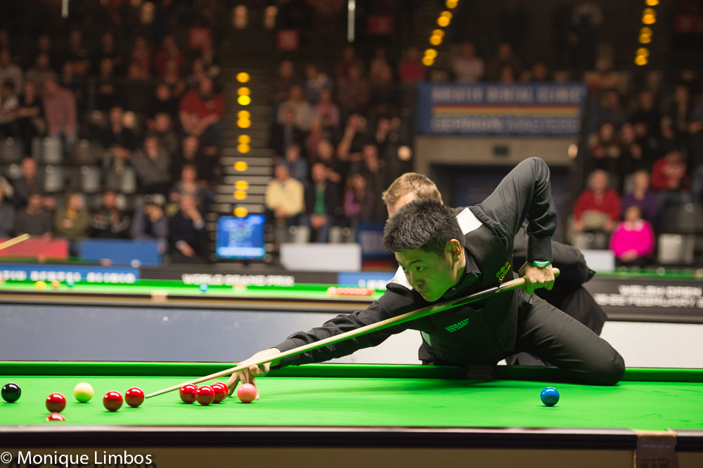 Liang Wenbo has reached his first major semi-final since 2009
