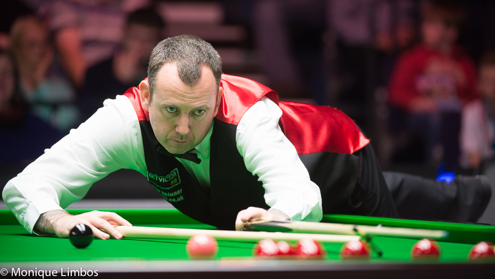 Mark Williams: on course for the Crucible