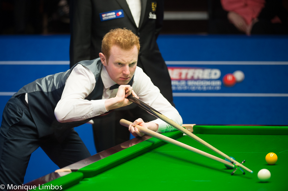Anthony McGill: beat Stephen Maguire 10-9