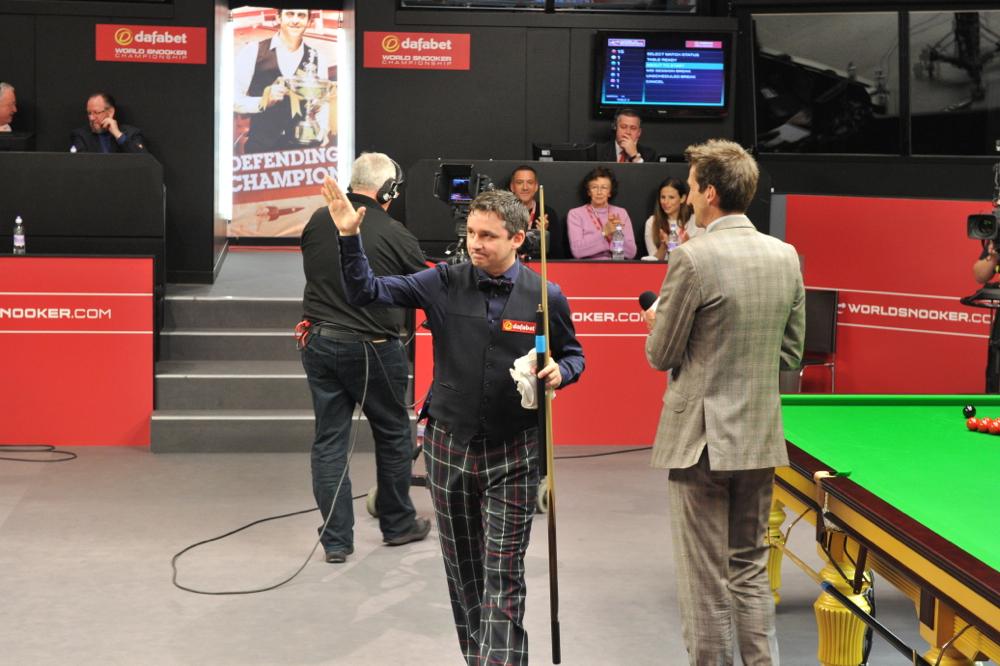 Alan McManus: snooker braveheart in his tartan trousers