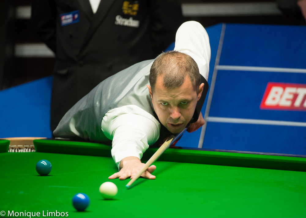 Barry Hawkins: third successive semi-final