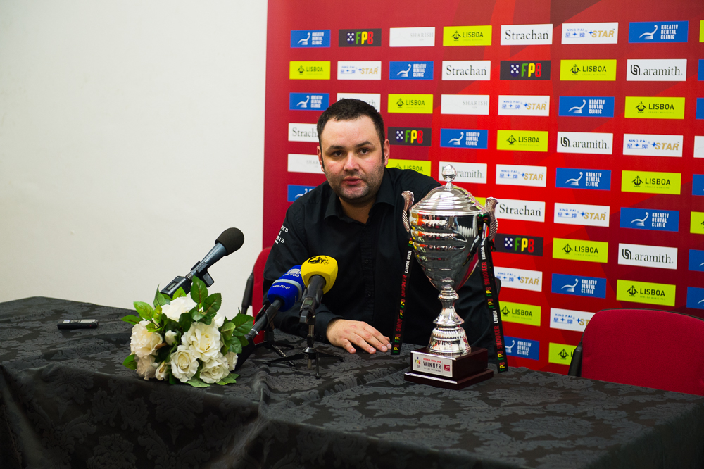 Stephen Maguire won the European Tour event staged in Portugal last season