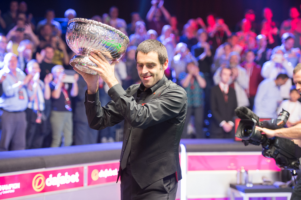 Ronnie O'Sullivan is not defending his Champion of Champions title