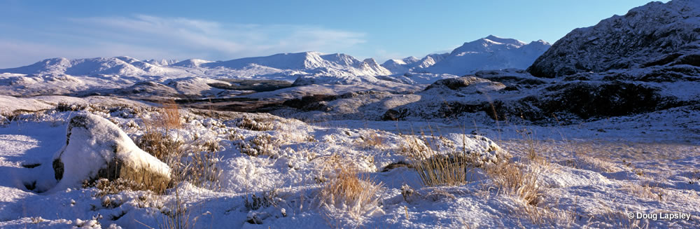 An Teallach range from Nr Poolewe