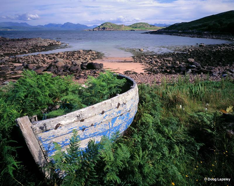 Boat by Loch Ewe