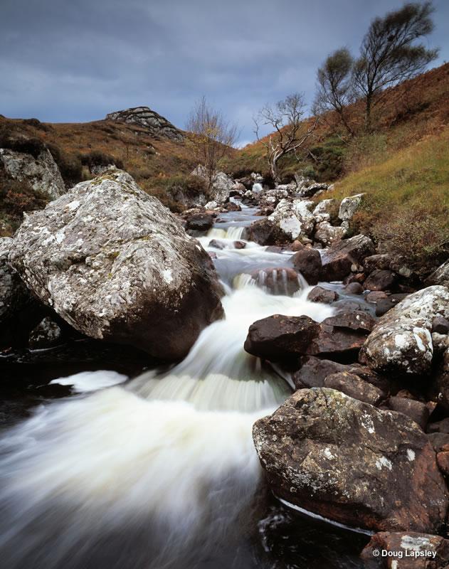 Burn by Loch Ewe