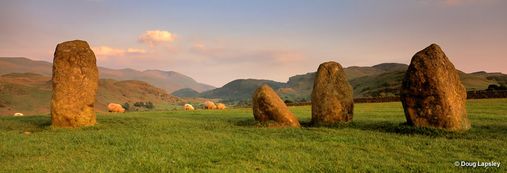 Castlerig Stone Circle - Keswick