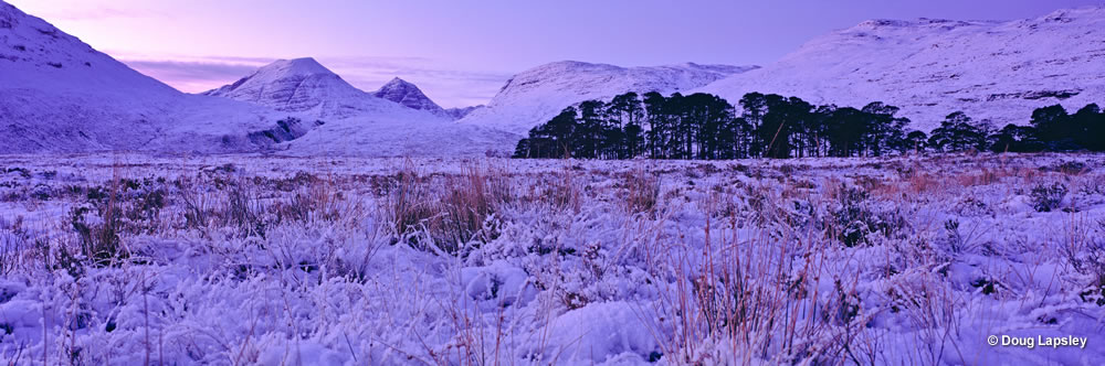 Torridon mountains from Loch Maree