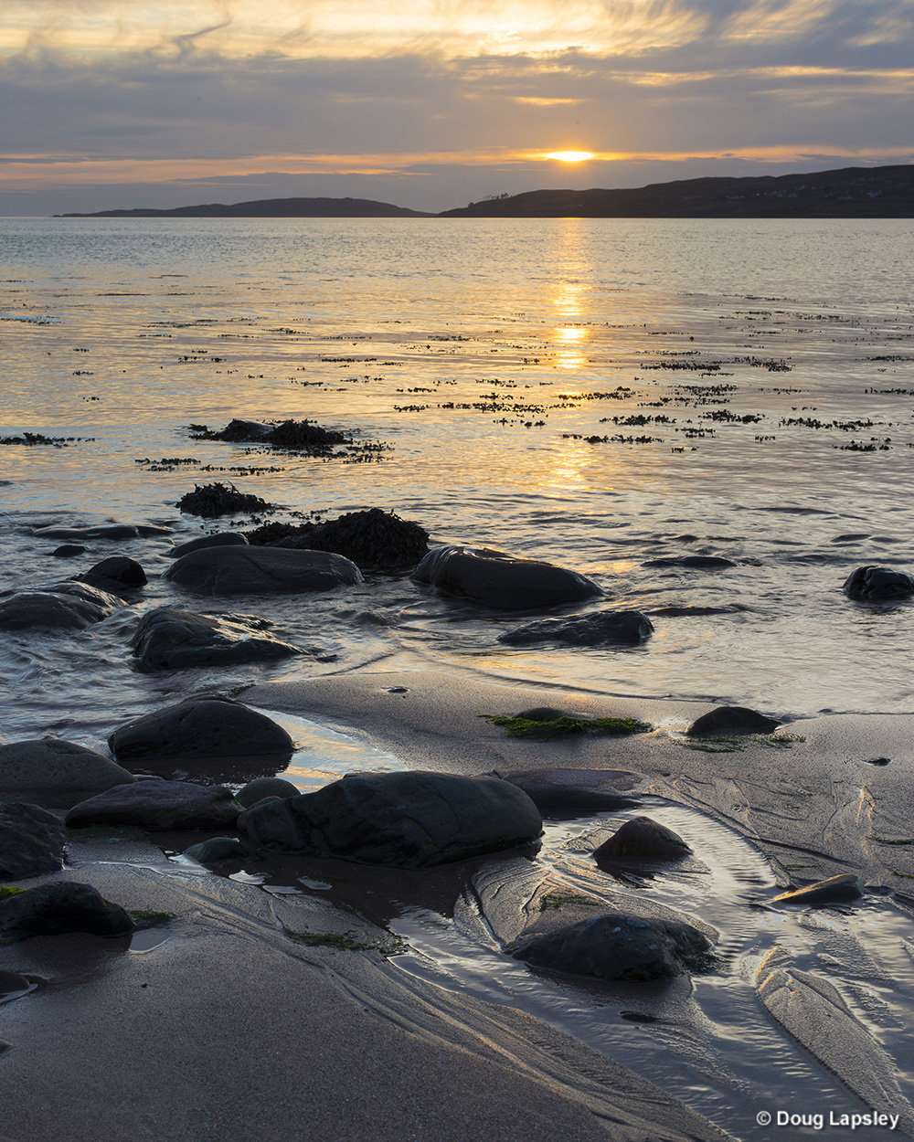 Gairloch from beach by the Gairloch Hotel