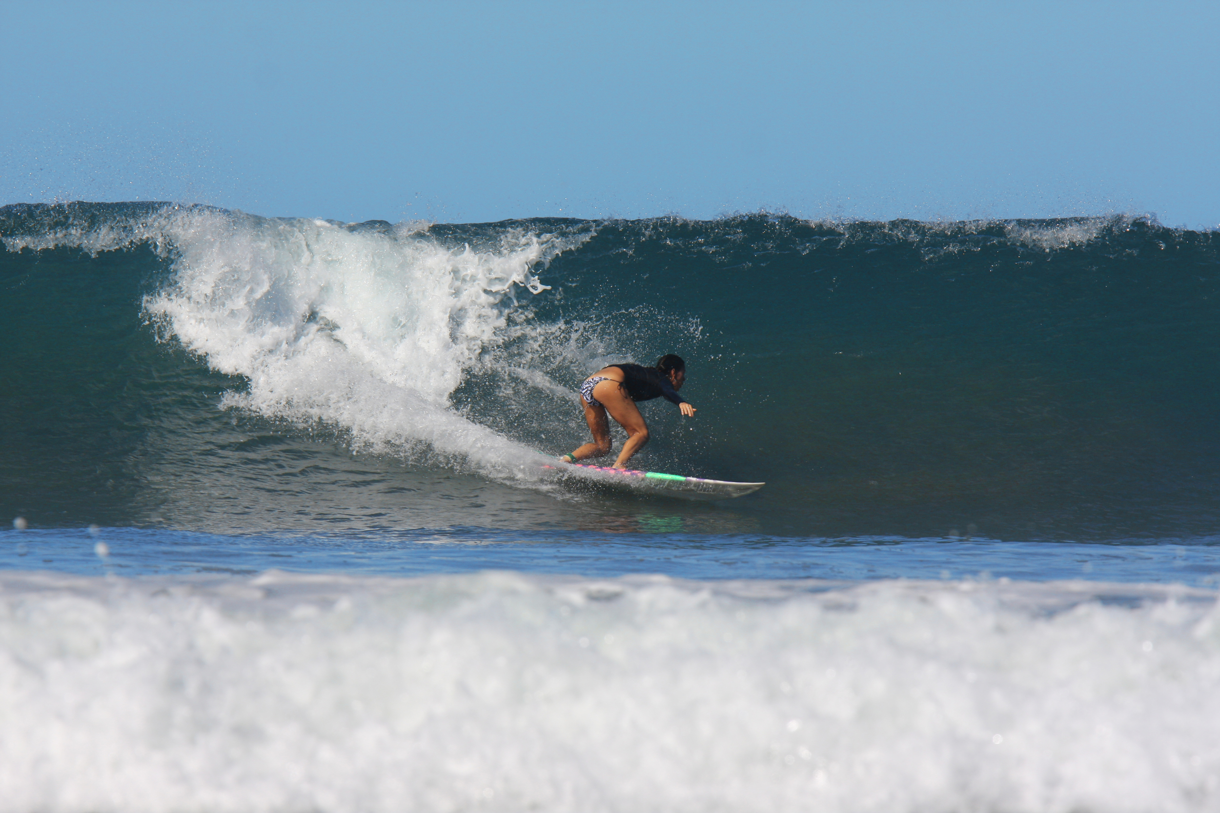 Mareva ripping it up with Surf2Live