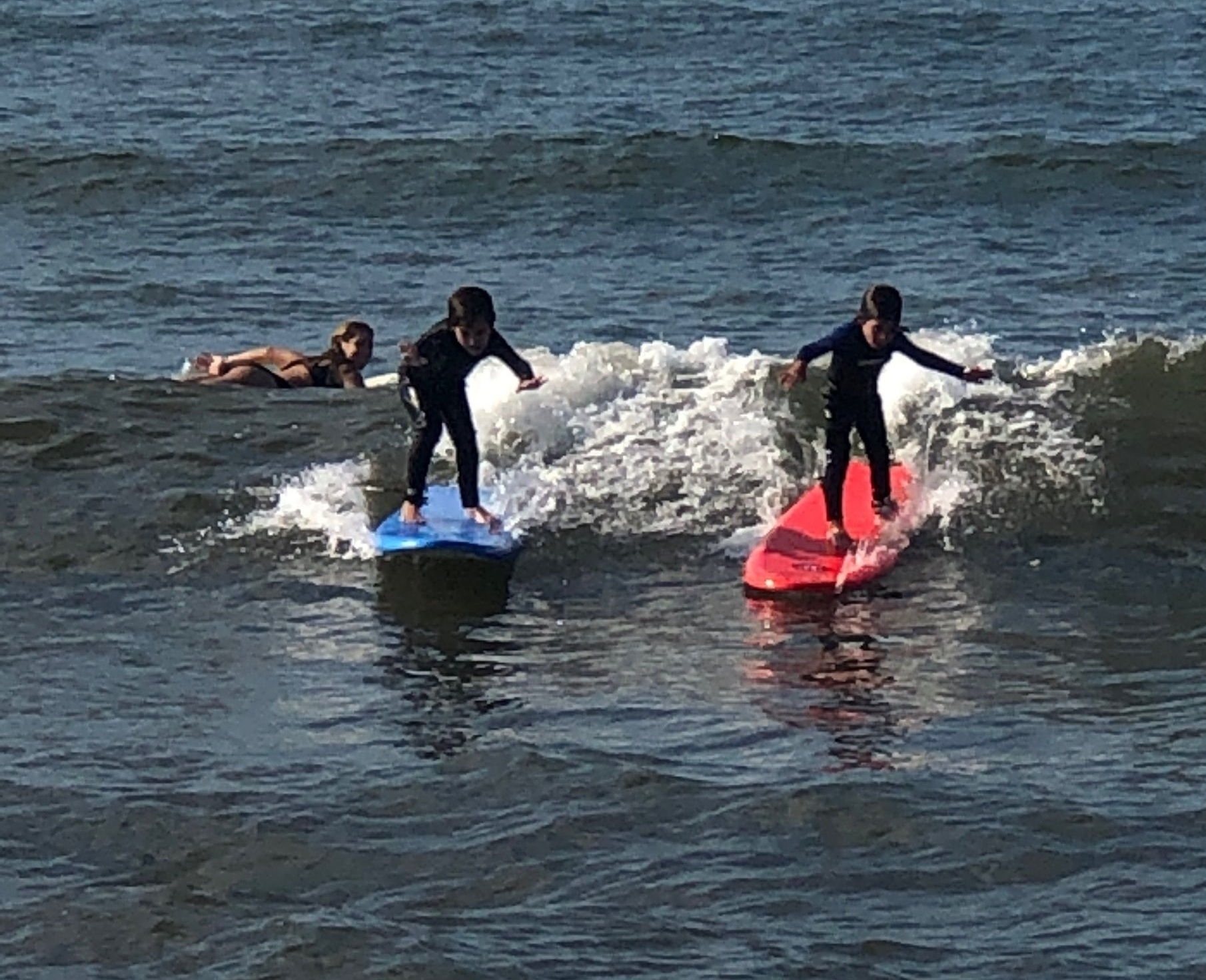 Thank you Elliot! - My boys tried another surf school but just did not get it until they came to Surf2Live. Now the boys are surfing on short boards and loving it. No crowds and pure surf time.