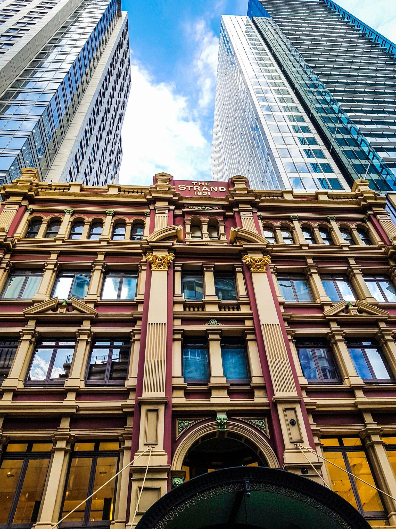 The Strand Arcade building.  CBD, Sydney