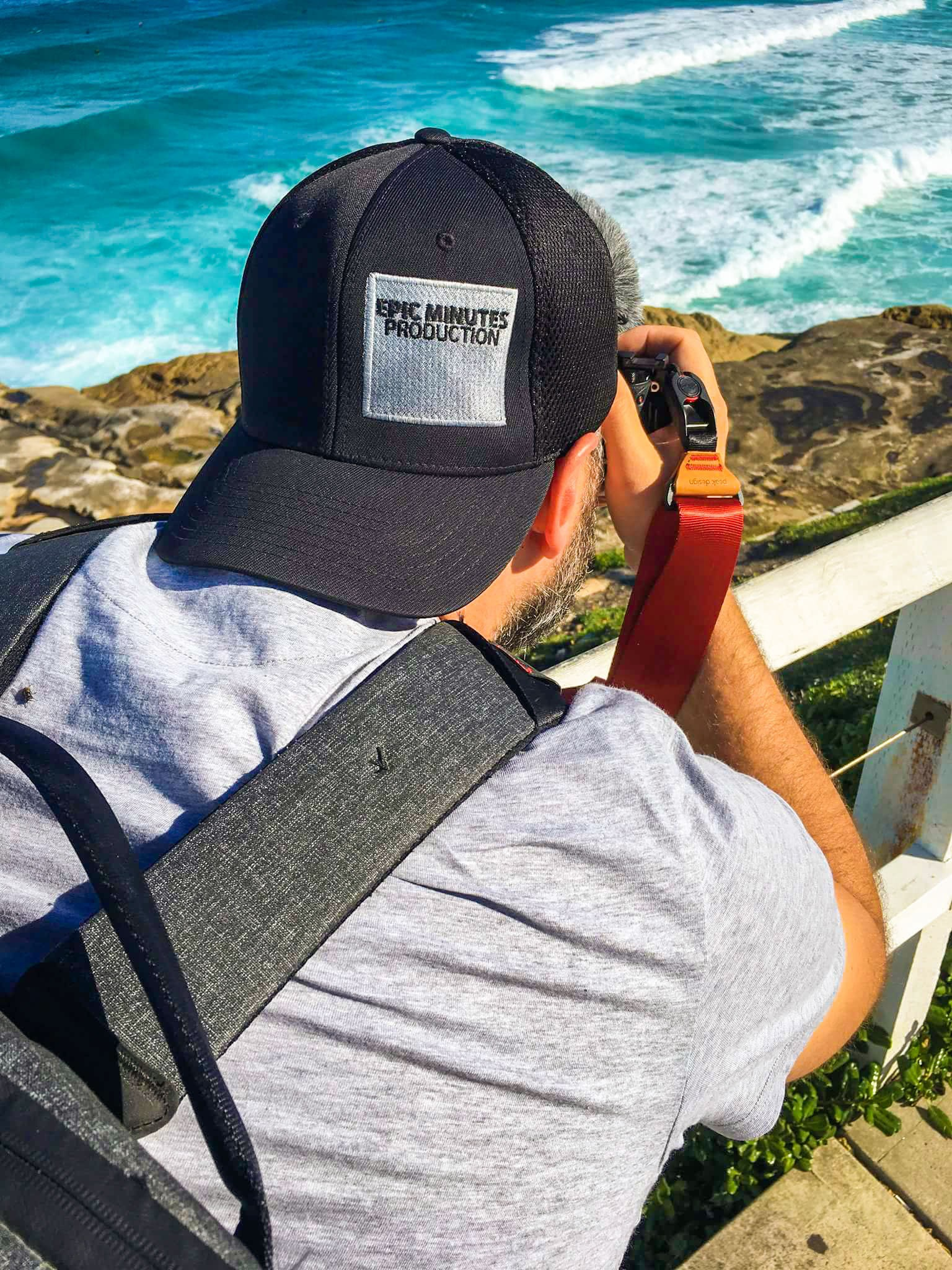 Dad in Action #epicminutesproductions  Bondi to Coogee Coastal walk  Bronte Beach, Sydney