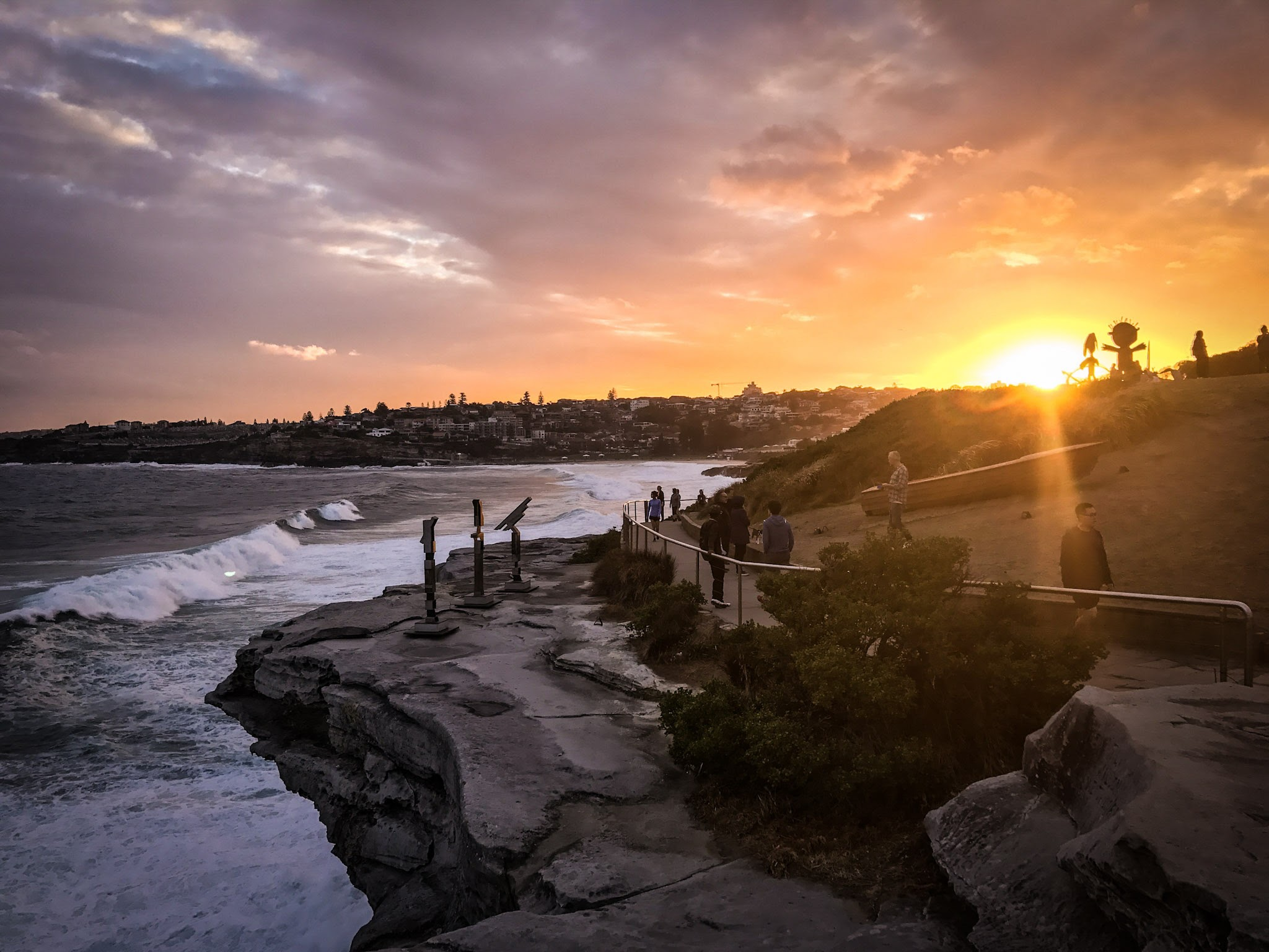 Bondi to Coogee Coastal walk  Marks Park, Sydney