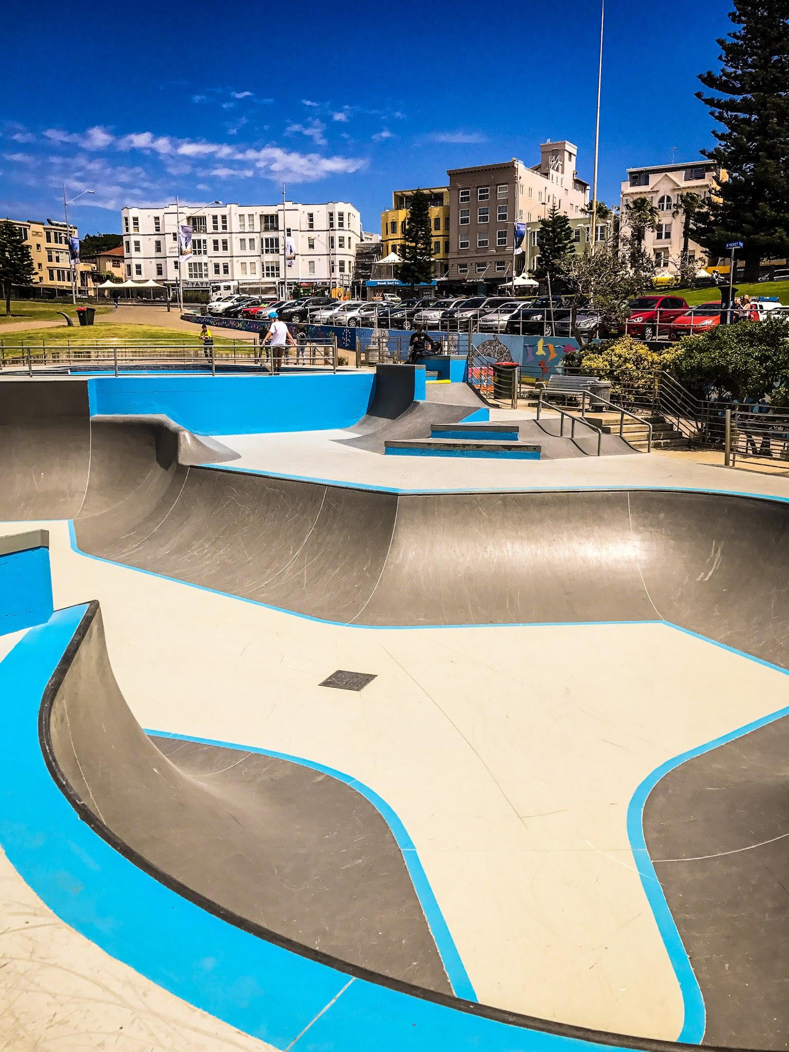 Want to skate ?  Skate Park Bondi Beach, Sydney