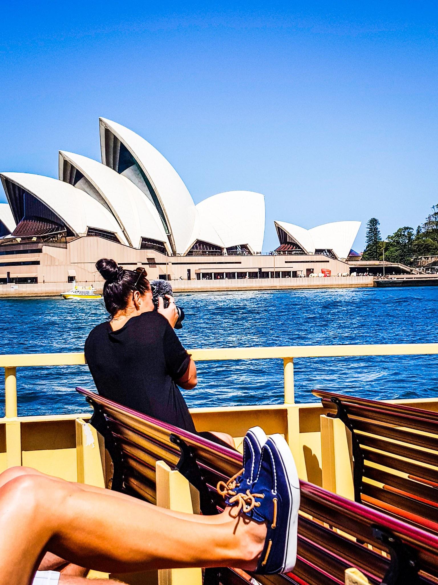 Ferry views.  Opera House, Sydeny