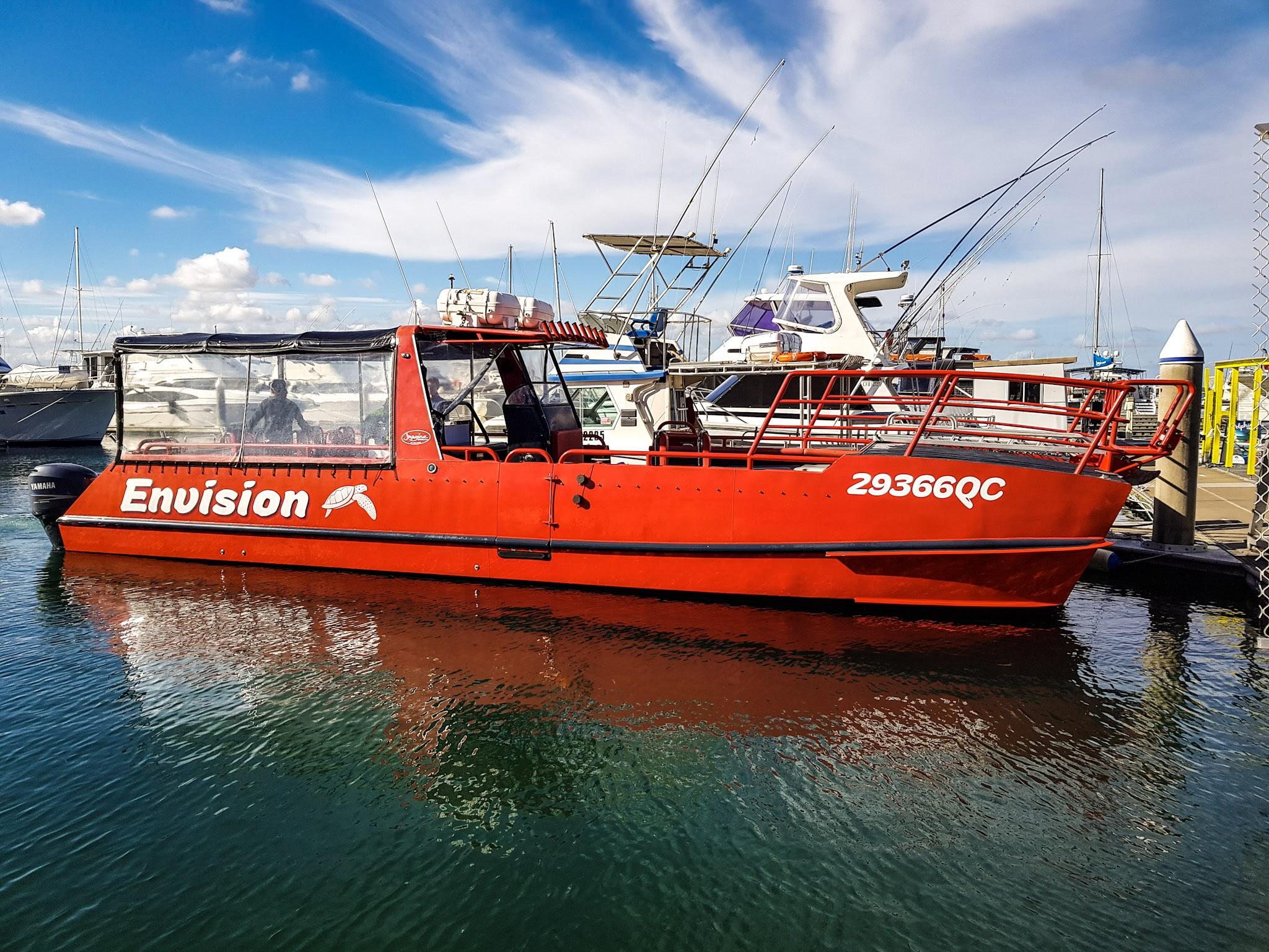 Our speedboat ;)  Dock C d' Albora Marina, Nelson Bay