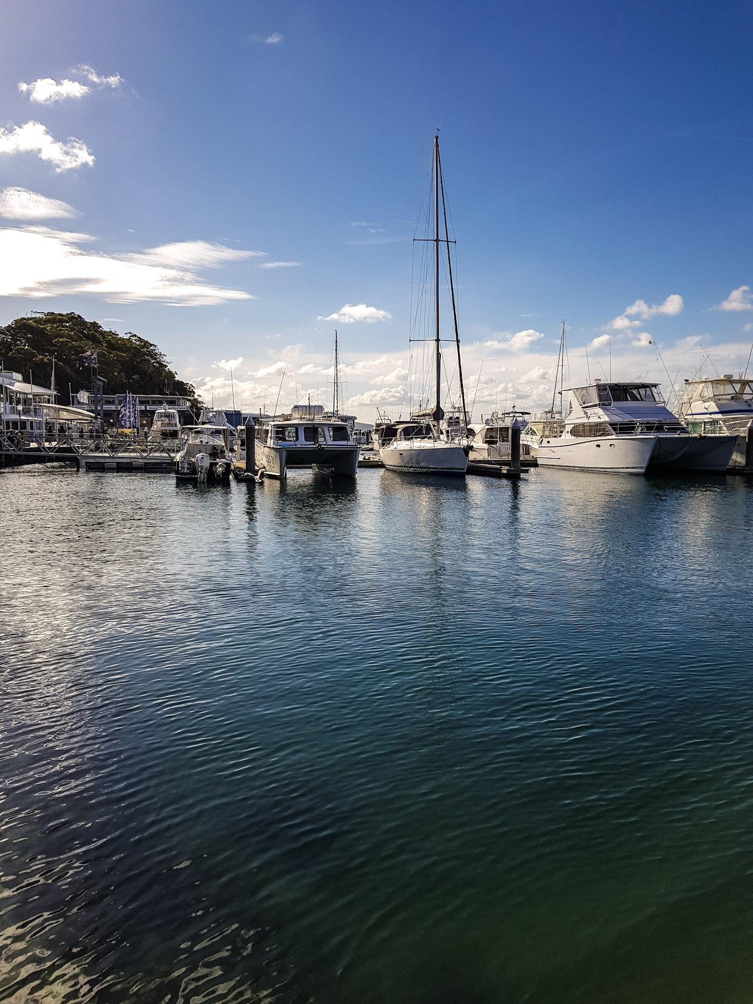 Dock C d' Albora Marina, Nelson Bay