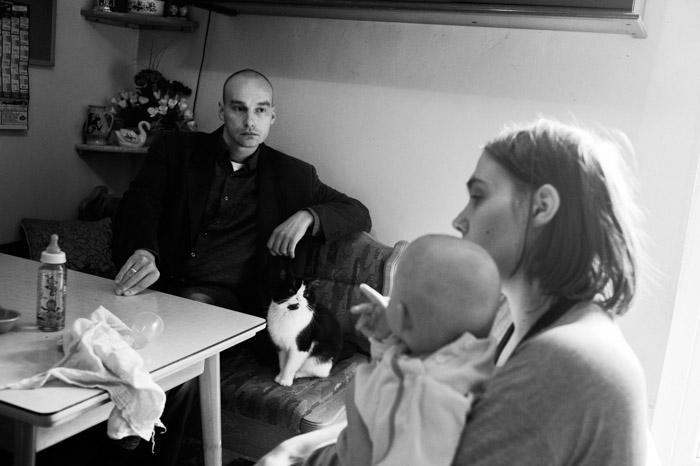 Frank Wessels ist ein junger Pastor in einem kleinen Dorf von 1200 Einwohnern in Ostfriesland.