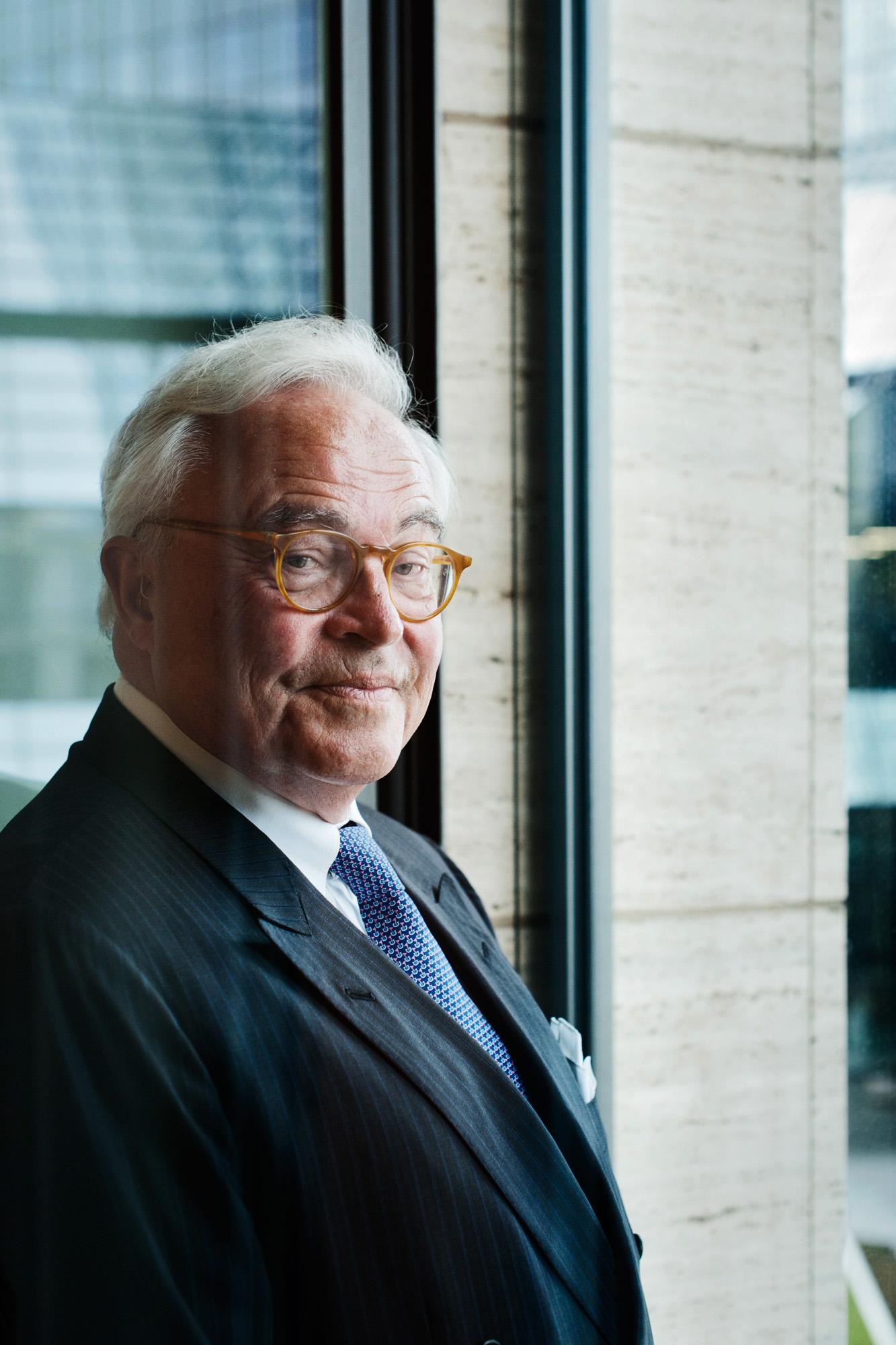 Rolf Breuer - Deutschbänker und Interviewpartner