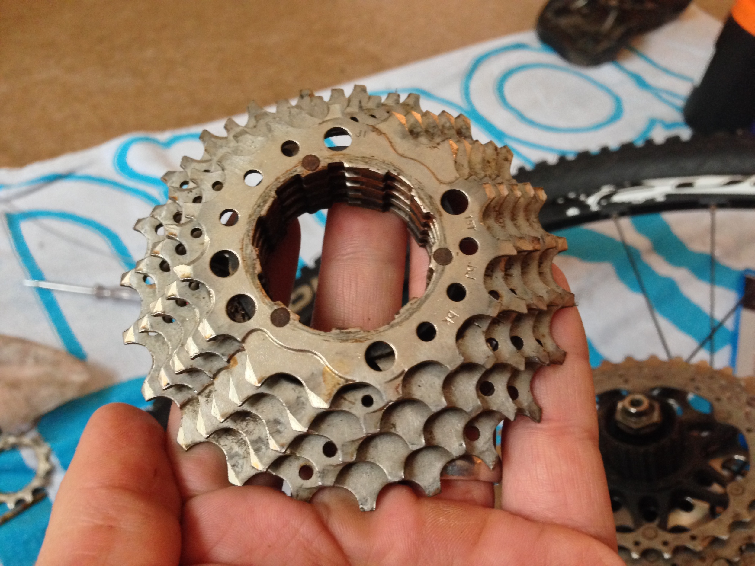 You may need to drill out the pins holding your lower cassette togther