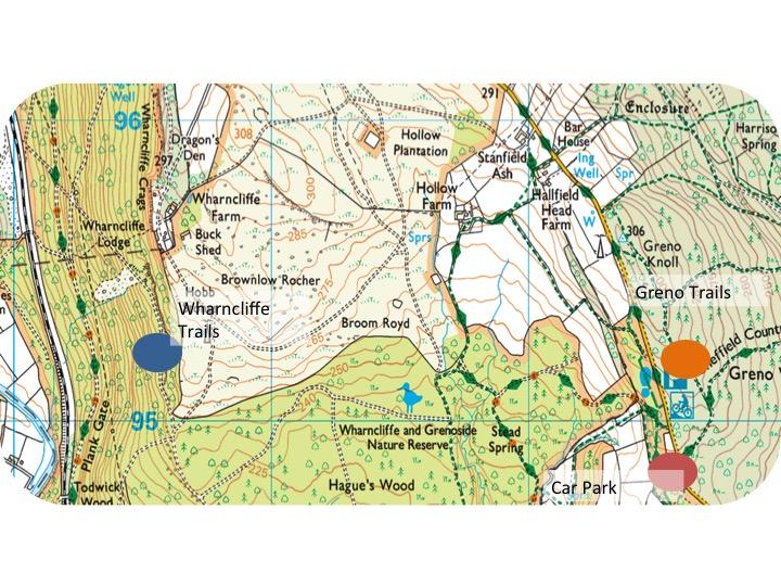 Wharncliffe &Grenoside woods