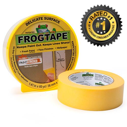 Frogtape  Keeps it clean