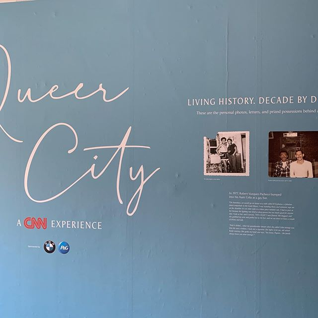"Honored to have been selected to be Production Designer on the exhibition titled, ""Queer City"" in New York which ran on Thursday this past week. The exhibit was sponsored and curated by CNN and presents a decade-by-decade journey through New York City's queer history, beginning with the 1940s and continuing to present day. Presentations focus on telling intimate personal stories with journal entries, photos, ephemera and audio video, creating nuanced accounts of their lives. Many of the people profiled in the exhibition were present at the opening and it was wonderful seeing their reactions to the exhibition. A BIG thanks to Exhibitcraft Studios for top-notch fabrication and Spearhead Marketing Group for exceptional planning and production."