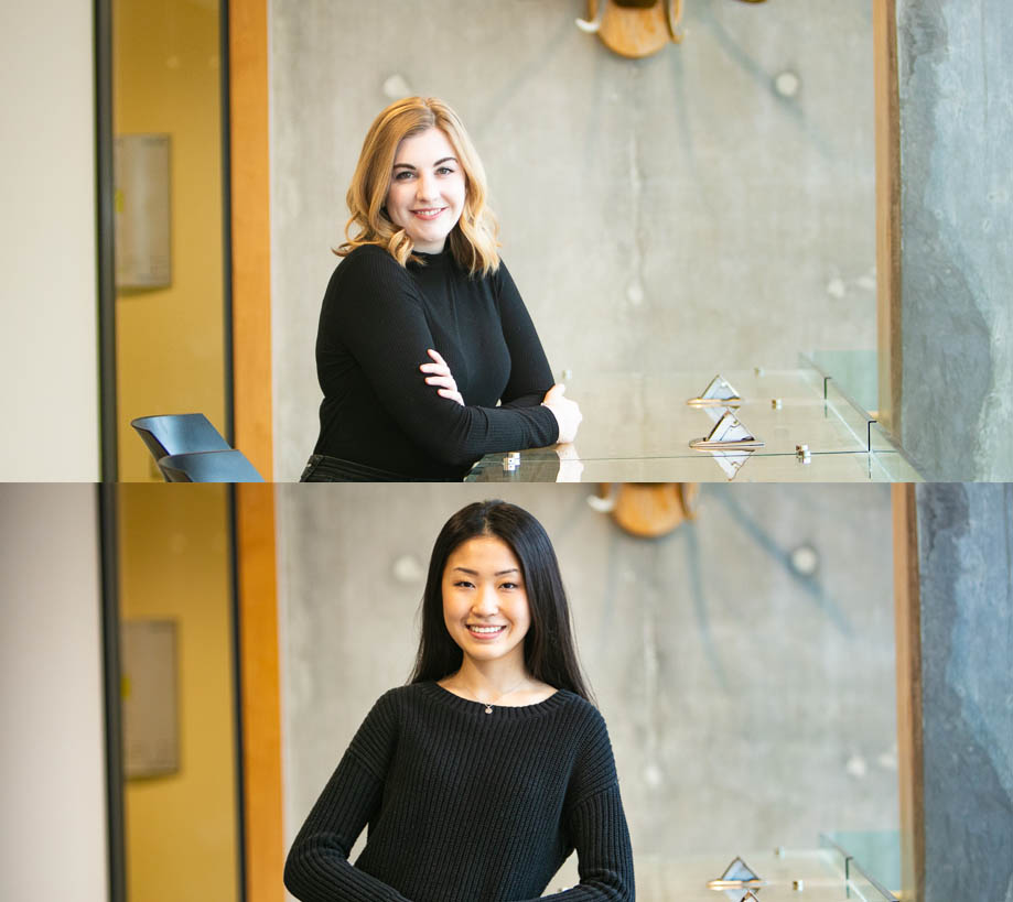 Extraordinary Eublephosphere scientists  Laura  and  Yi Fan  featured on the University of Guelph Graduate & Postdoctoral Studies webpage. Insight, advice, and colour coordination.
