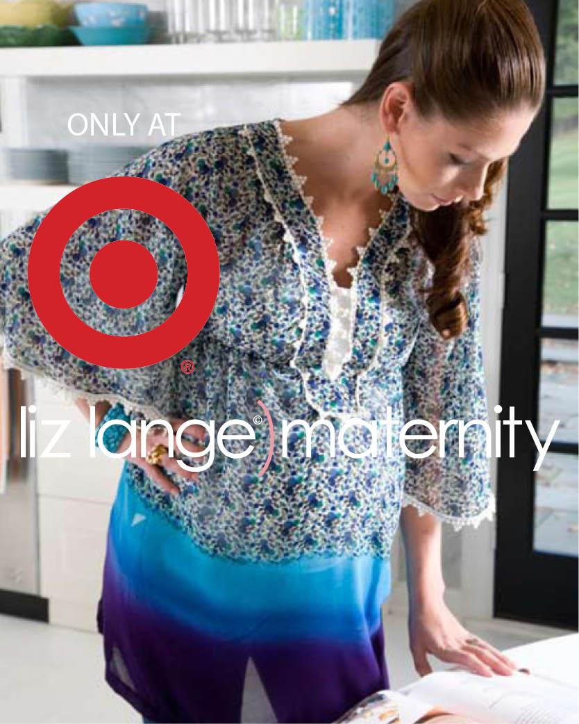2002   The Liz Lange Maternity line debuts at Target.