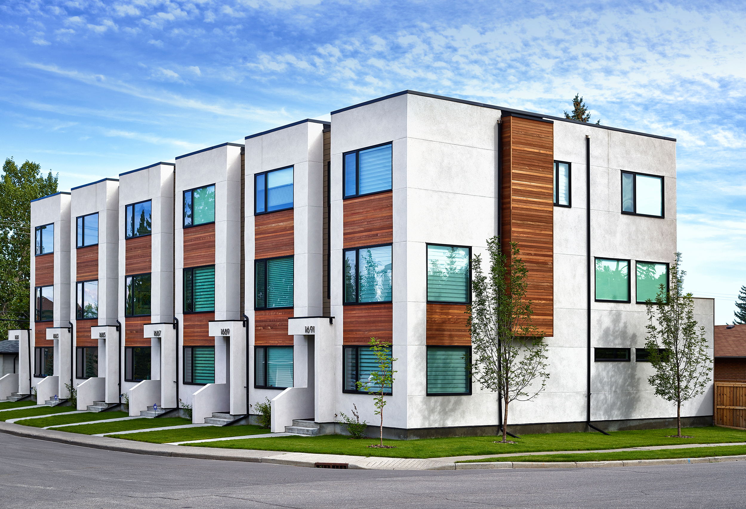 Parcside Townhomes Photo by Gary Campbell