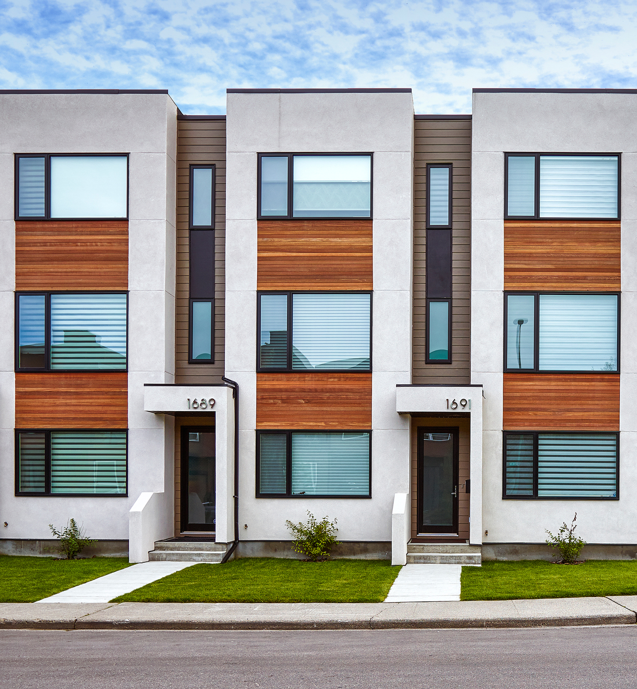 Parcside Townhouses  Photo by Gary Campbell
