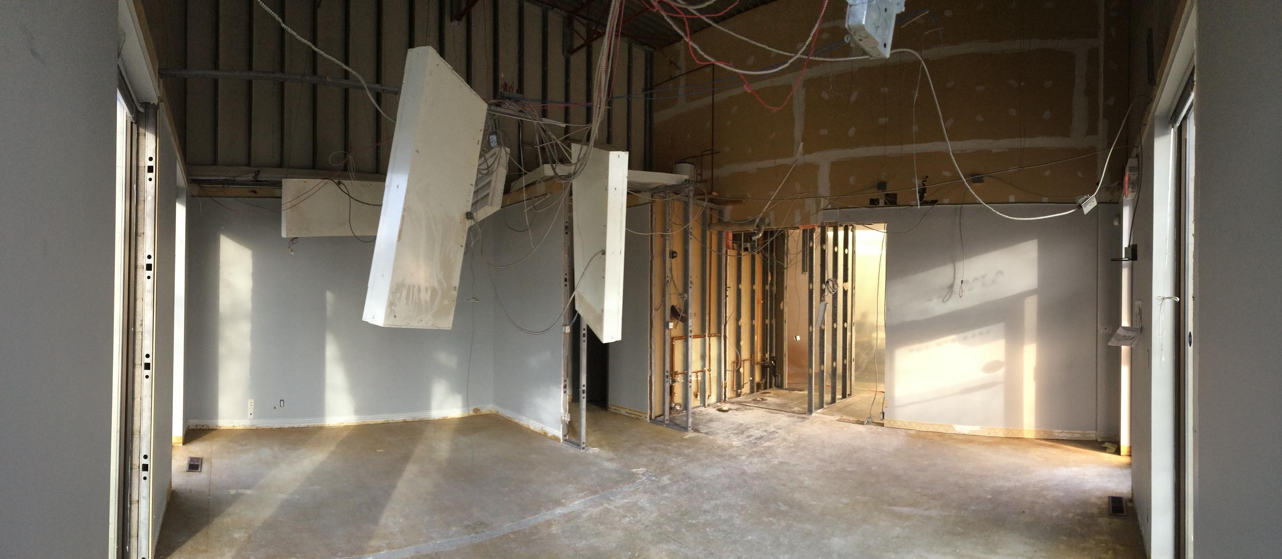 Bay A After Demolition