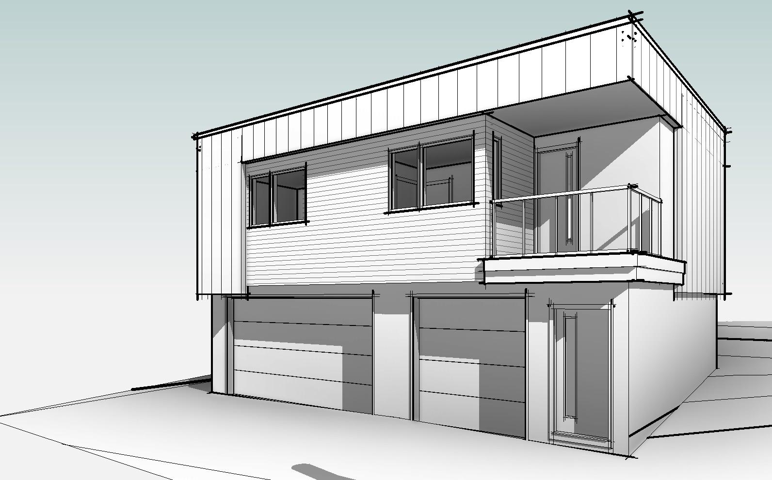 Proposed Garage Suite