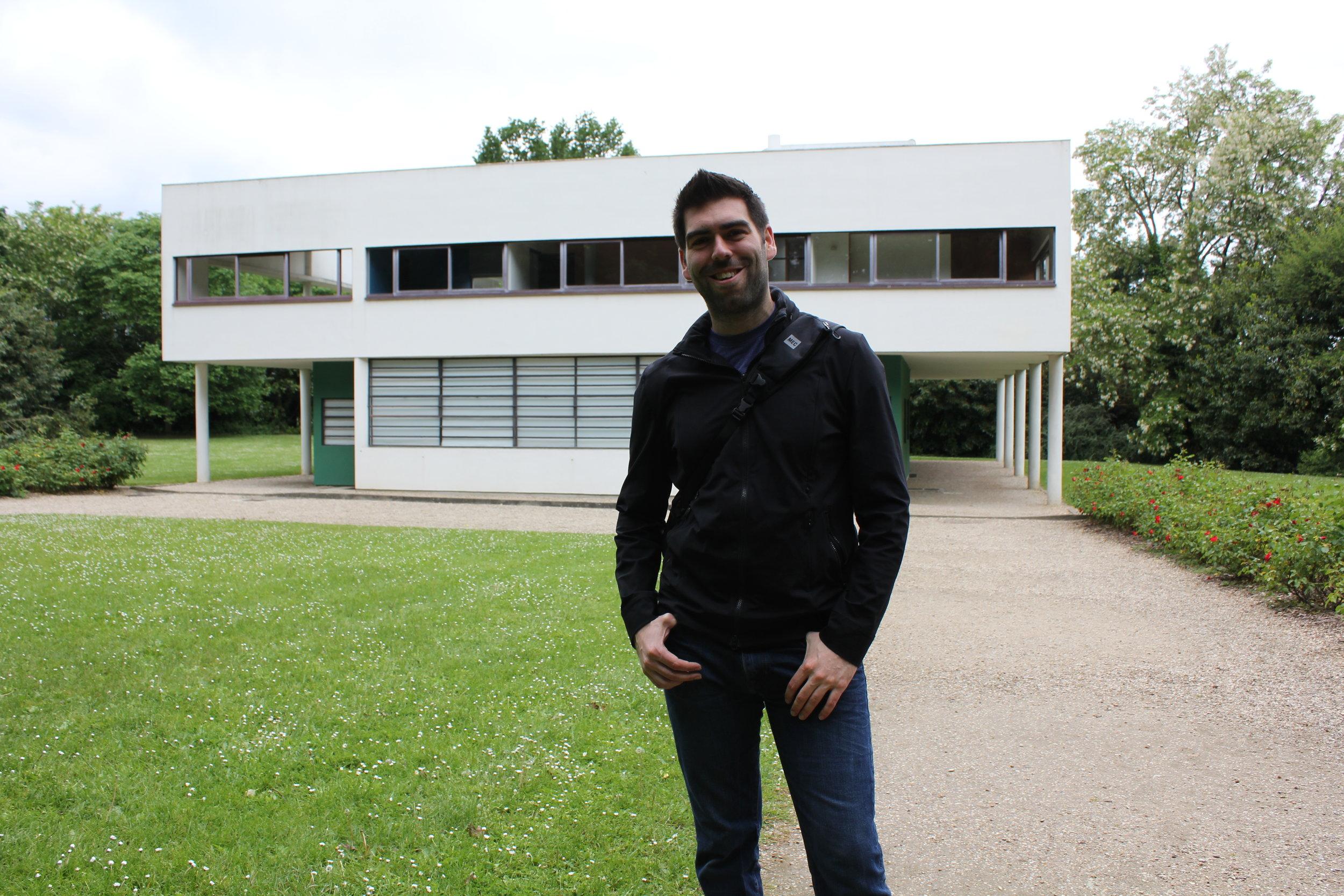Tom Jenson at Villa Savoye