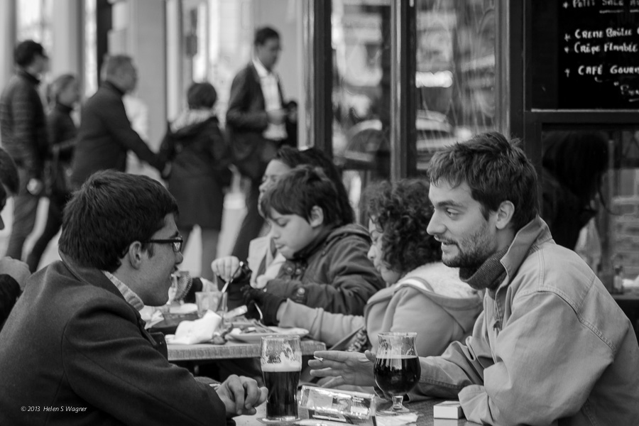 Latin Quarter  Paris, France